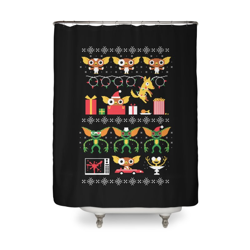 No Cookies After Midnight Home Shower Curtain by DinoMike's Artist Shop