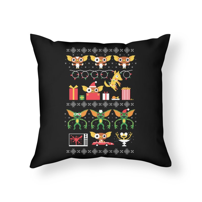 No Cookies After Midnight Home Throw Pillow by DinoMike's Artist Shop