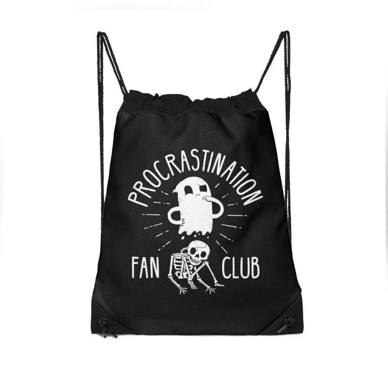Procrastination Fan Club Accessories Bag by DinoMike's Artist Shop
