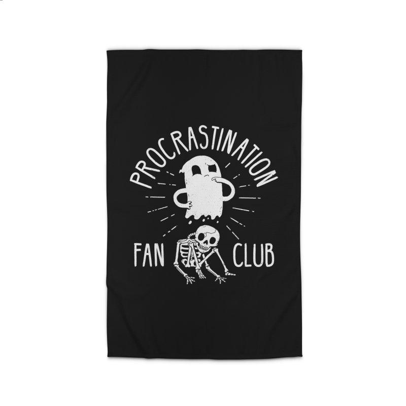 Procrastination Fan Club Home Rug by DinoMike's Artist Shop