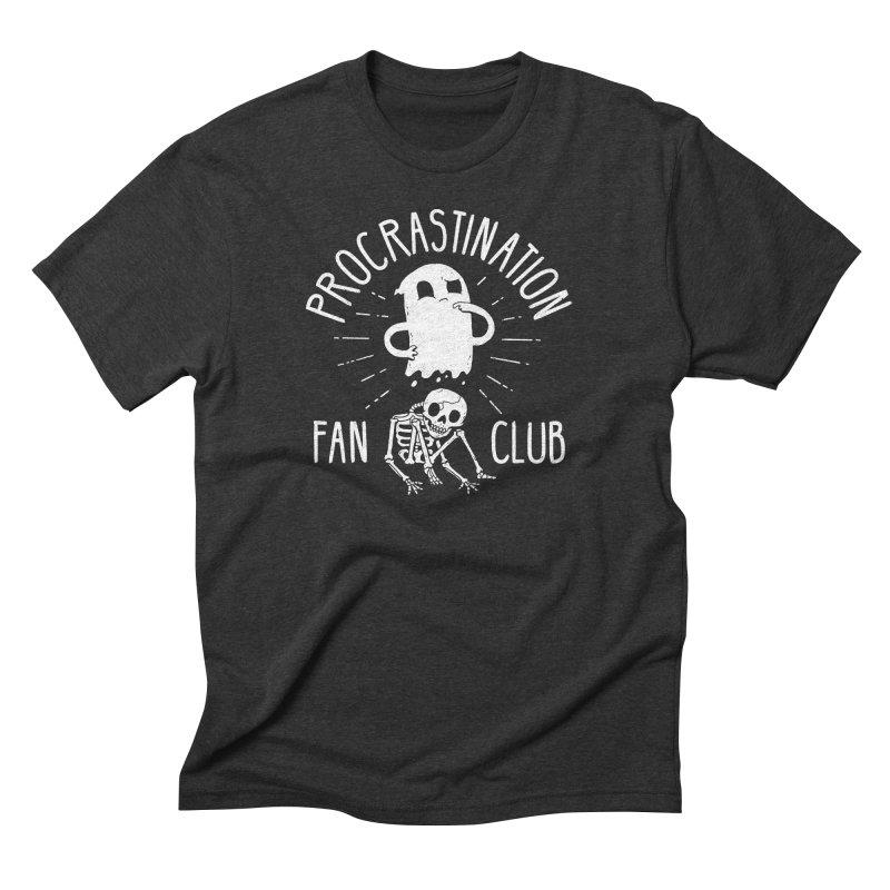Procrastination Fan Club Men's T-Shirt by DinoMike's Artist Shop