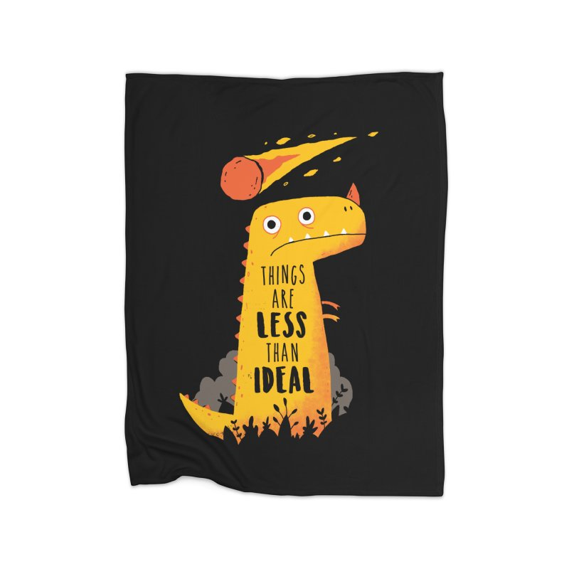 Less Than Ideal Home Blanket by DinoMike's Artist Shop