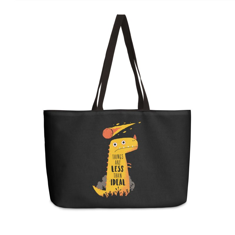 Less Than Ideal Accessories Bag by DinoMike's Artist Shop