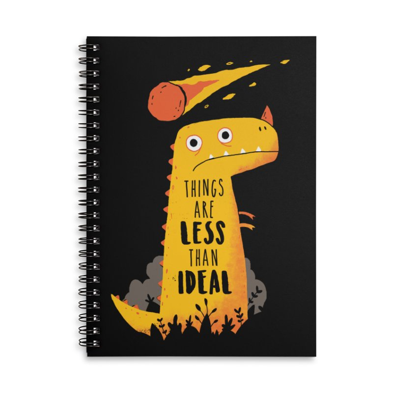 Less Than Ideal Accessories Notebook by DinoMike's Artist Shop
