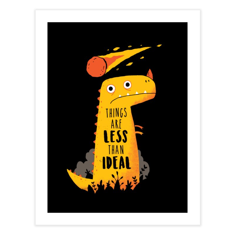 Less Than Ideal Home Fine Art Print by DinoMike's Artist Shop