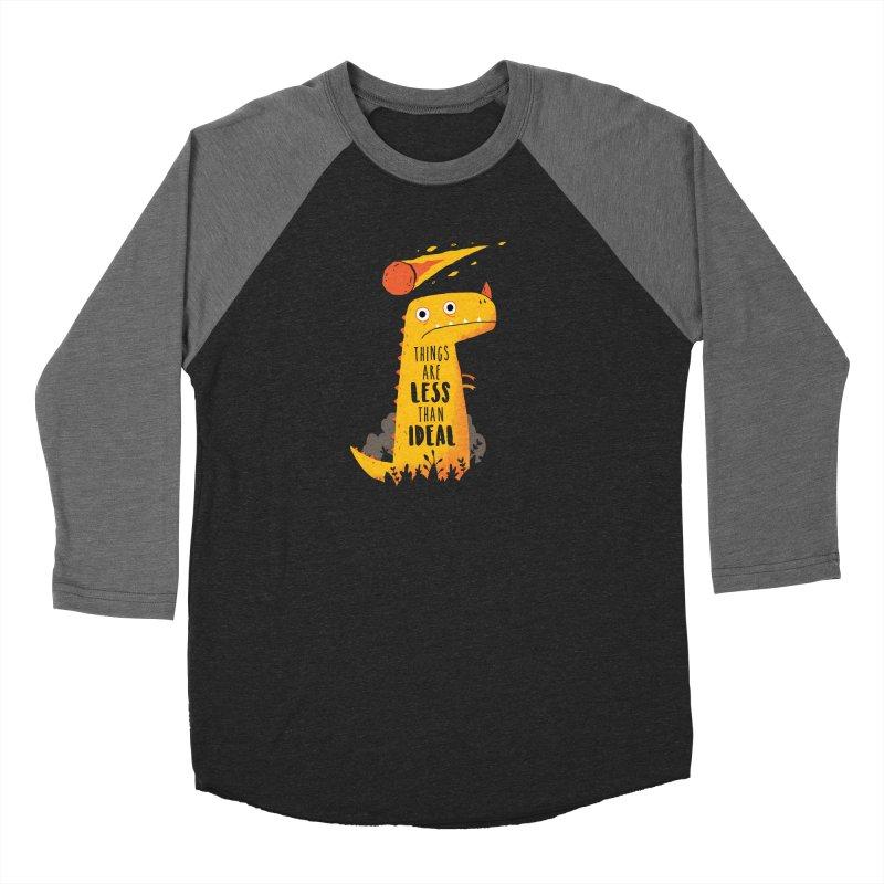 Less Than Ideal Women's Longsleeve T-Shirt by DinoMike's Artist Shop