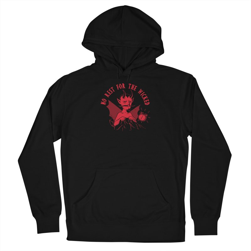 No Rest For The Wicked Men's Pullover Hoody by DinoMike's Artist Shop