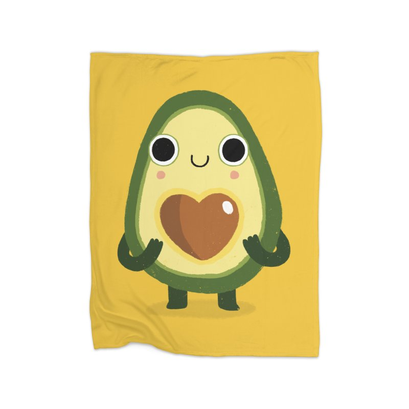 Luvocado Home Blanket by DinoMike's Artist Shop