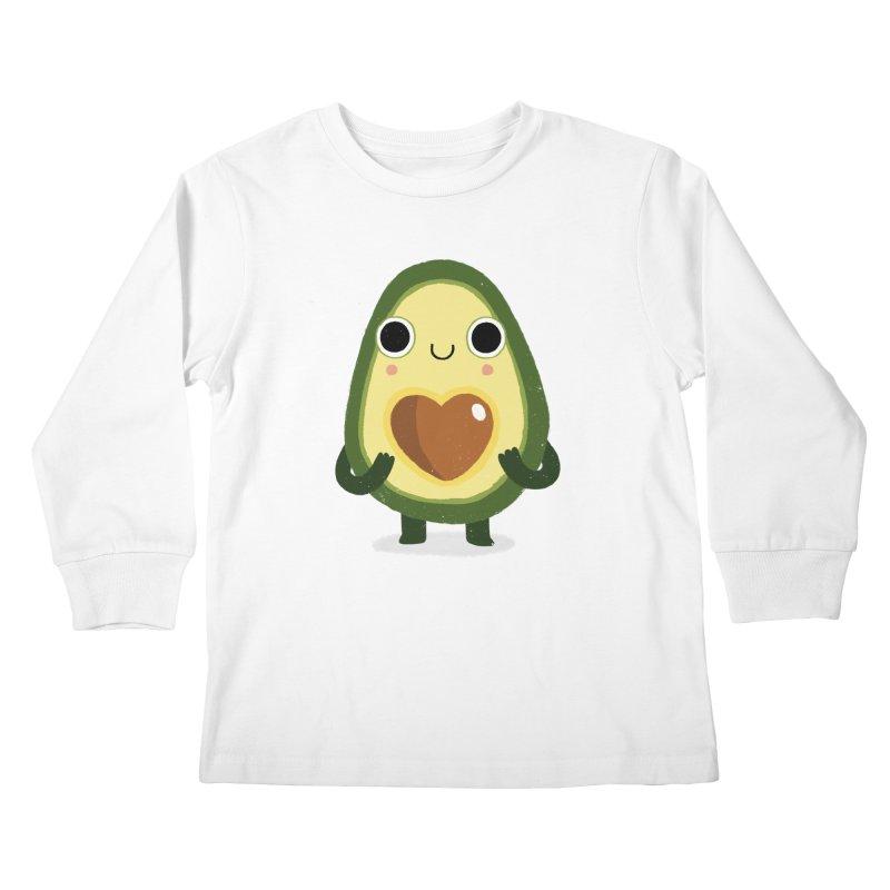 Luvocado Kids Longsleeve T-Shirt by DinoMike's Artist Shop