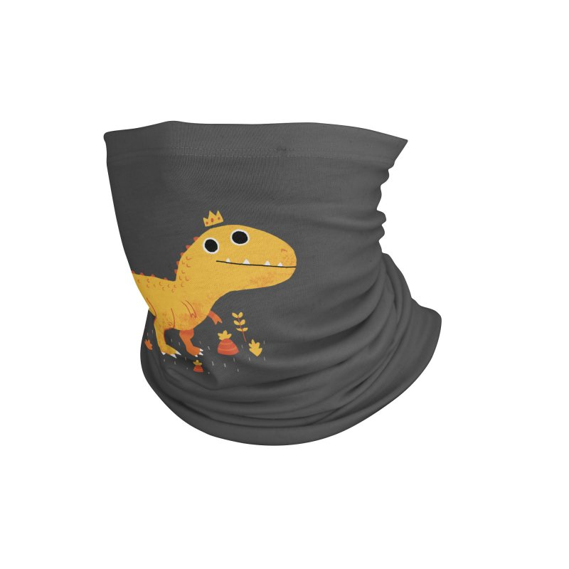 Tyrant Lizard King Accessories Neck Gaiter by DinoMike's Artist Shop
