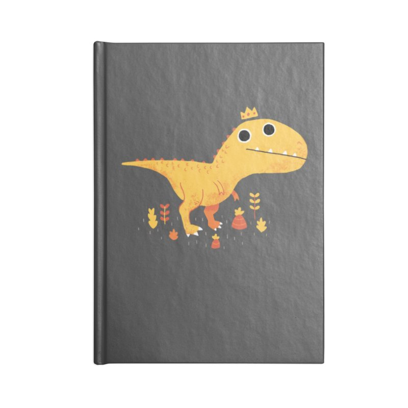Tyrant Lizard King Accessories Notebook by DinoMike's Artist Shop