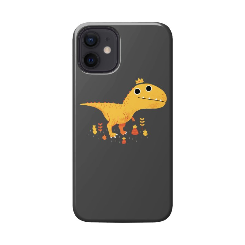 Tyrant Lizard King Accessories Phone Case by DinoMike's Artist Shop
