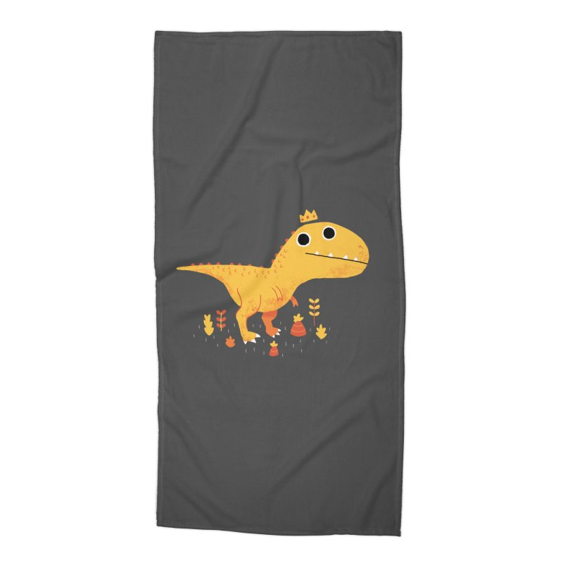 Tyrant Lizard King Accessories Beach Towel by DinoMike's Artist Shop