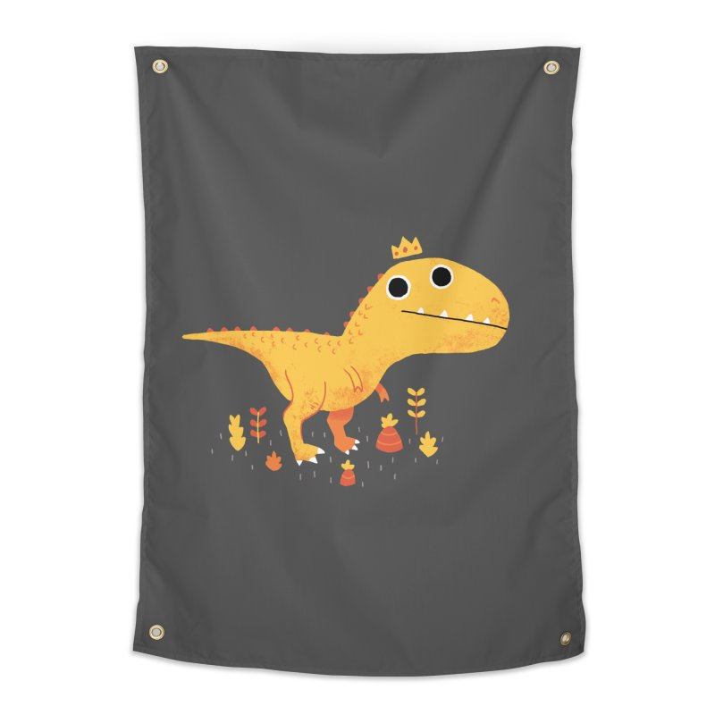 Tyrant Lizard King Home Tapestry by DinoMike's Artist Shop