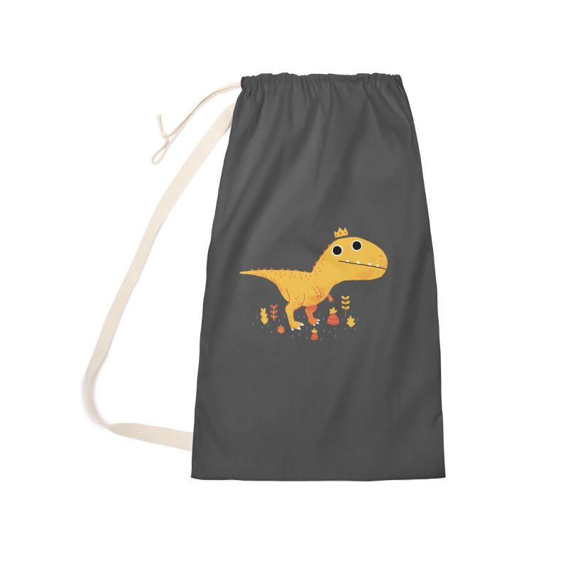 Tyrant Lizard King Accessories Bag by DinoMike's Artist Shop