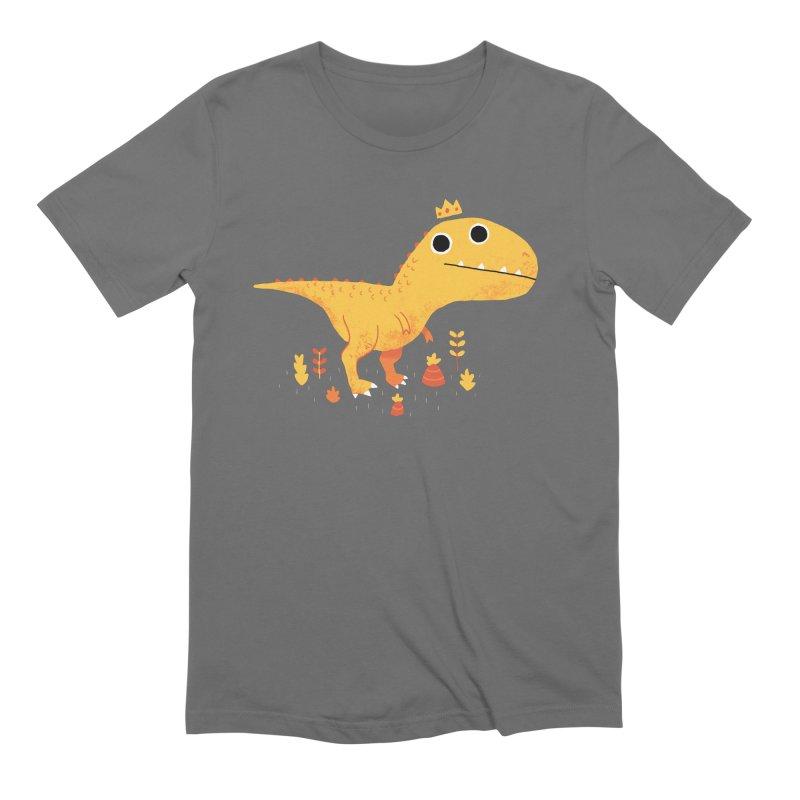 Tyrant Lizard King Men's T-Shirt by DinoMike's Artist Shop