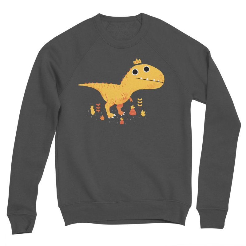 Tyrant Lizard King Women's Sweatshirt by DinoMike's Artist Shop