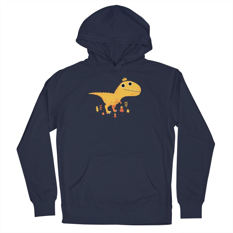 Tyrant Lizard King Men's Pullover Hoody by DinoMike's Artist Shop