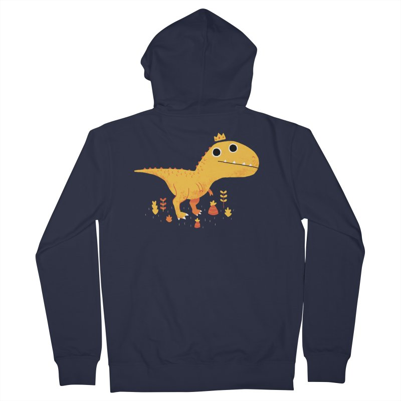Tyrant Lizard King Women's Zip-Up Hoody by DinoMike's Artist Shop