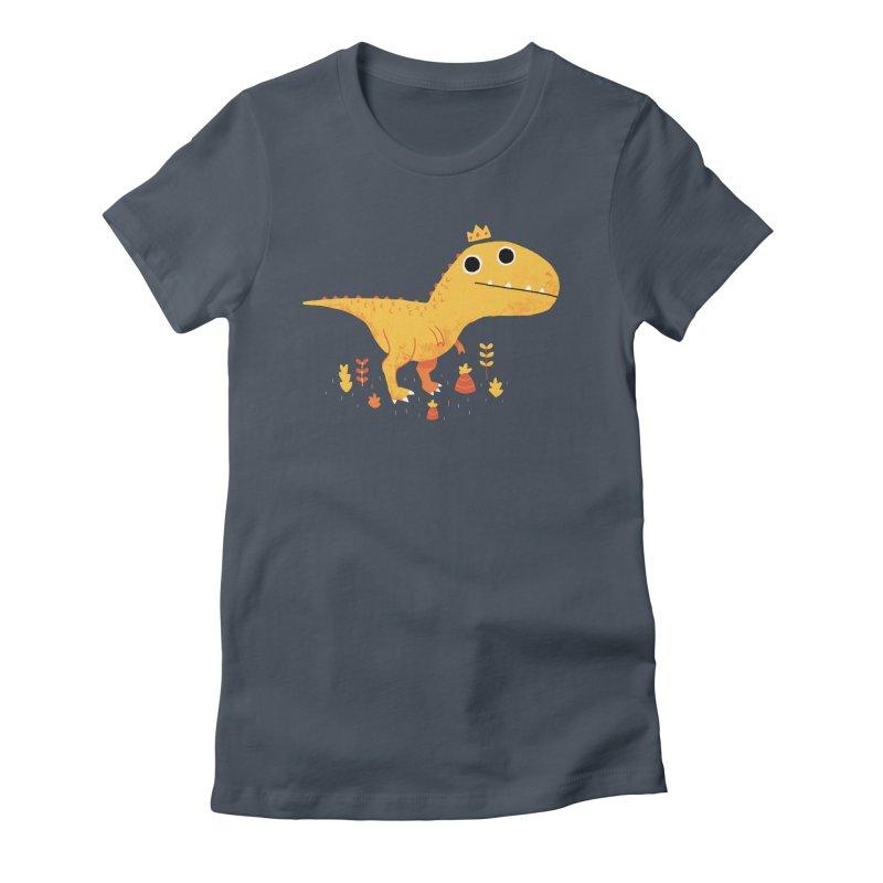 Tyrant Lizard King Women's T-Shirt by DinoMike's Artist Shop