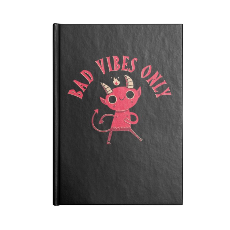 Bad Vibes Accessories Notebook by DinoMike's Artist Shop
