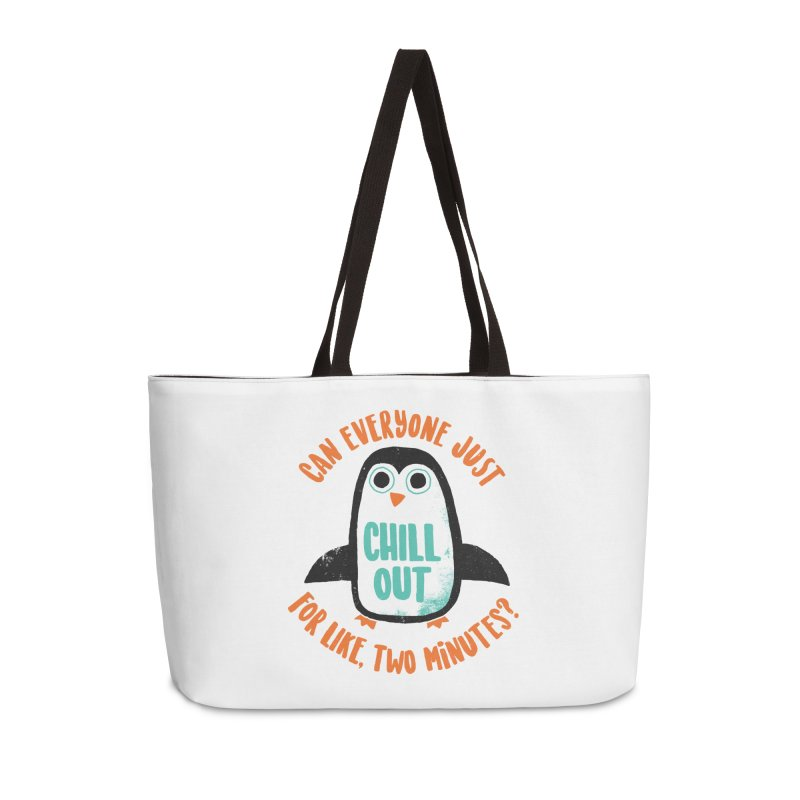 Chill Out Accessories Bag by DinoMike's Artist Shop