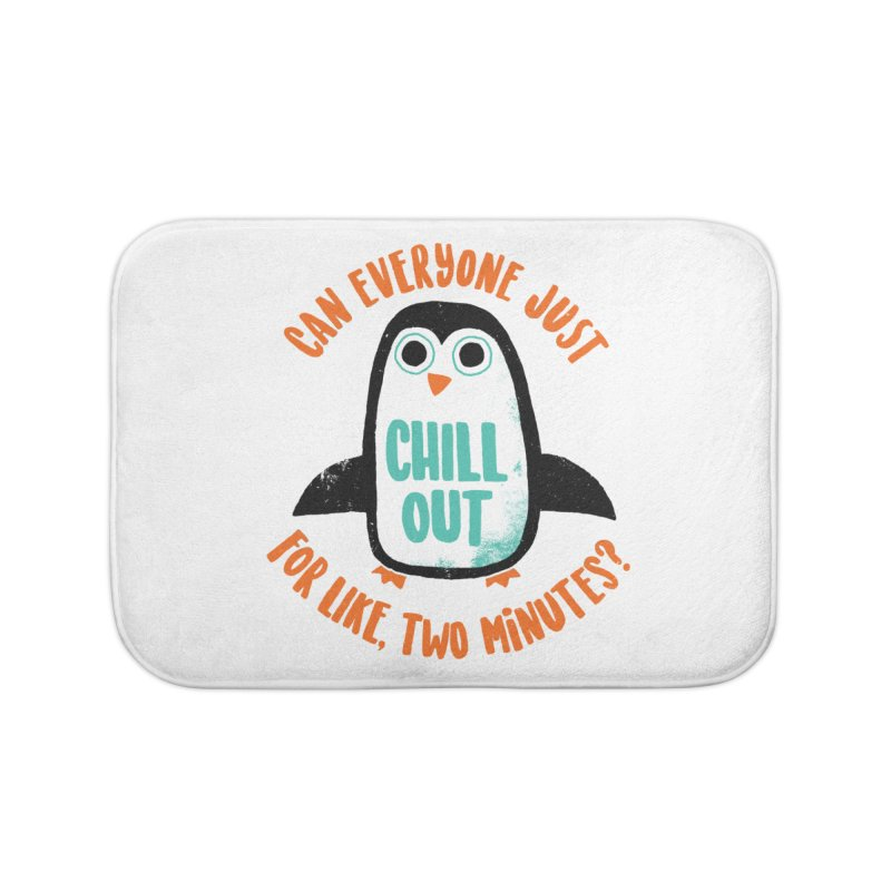 Chill Out Home Bath Mat by DinoMike's Artist Shop