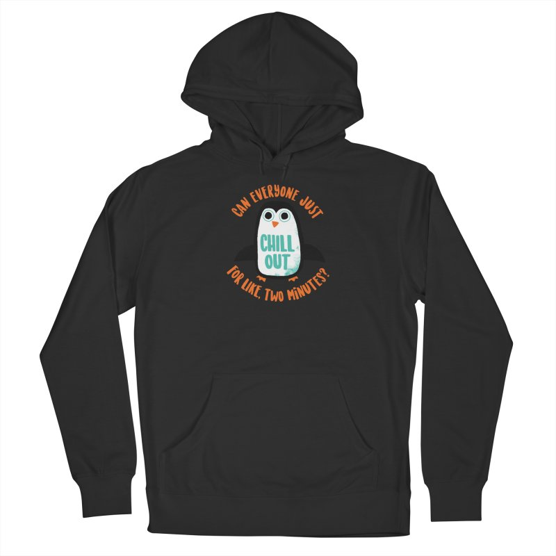 Chill Out Men's Pullover Hoody by DinoMike's Artist Shop