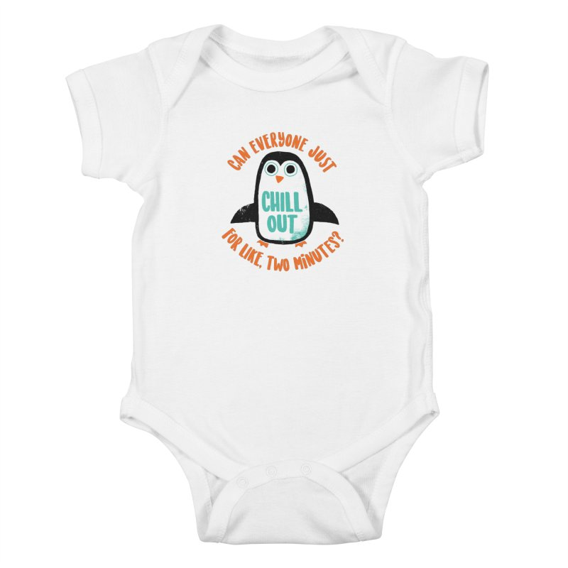 Chill Out Kids Baby Bodysuit by DinoMike's Artist Shop