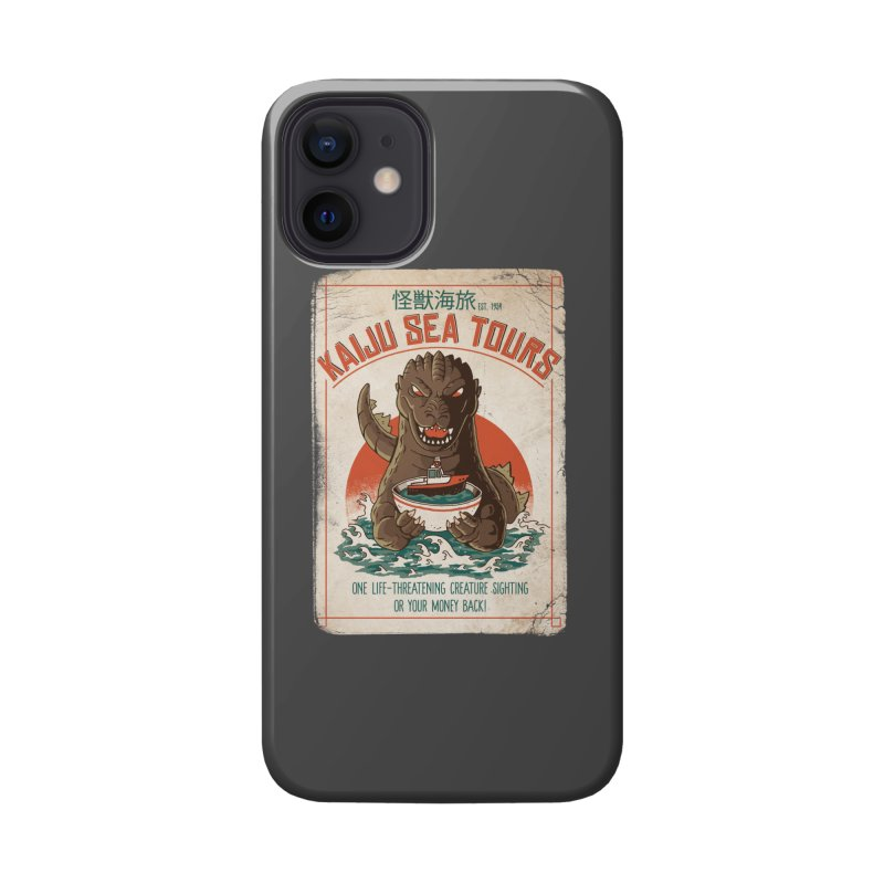 Kaiju Sea Tours Accessories Phone Case by DinoMike's Artist Shop