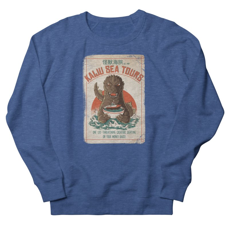 Kaiju Sea Tours Men's Sweatshirt by DinoMike's Artist Shop