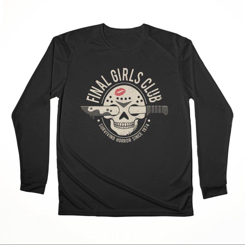 Final Girl Club Women's Longsleeve T-Shirt by DinoMike's Artist Shop
