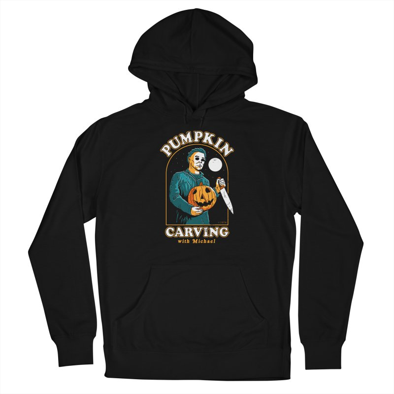 Carving With Michael Men's Pullover Hoody by DinoMike's Artist Shop
