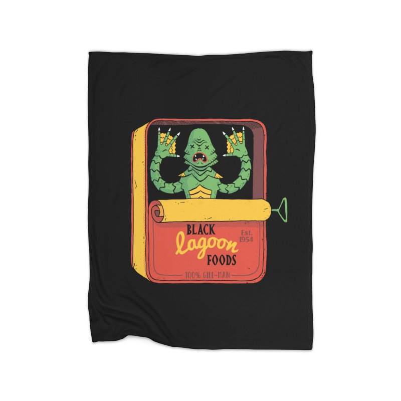 Tinned Creature Home Blanket by DinoMike's Artist Shop