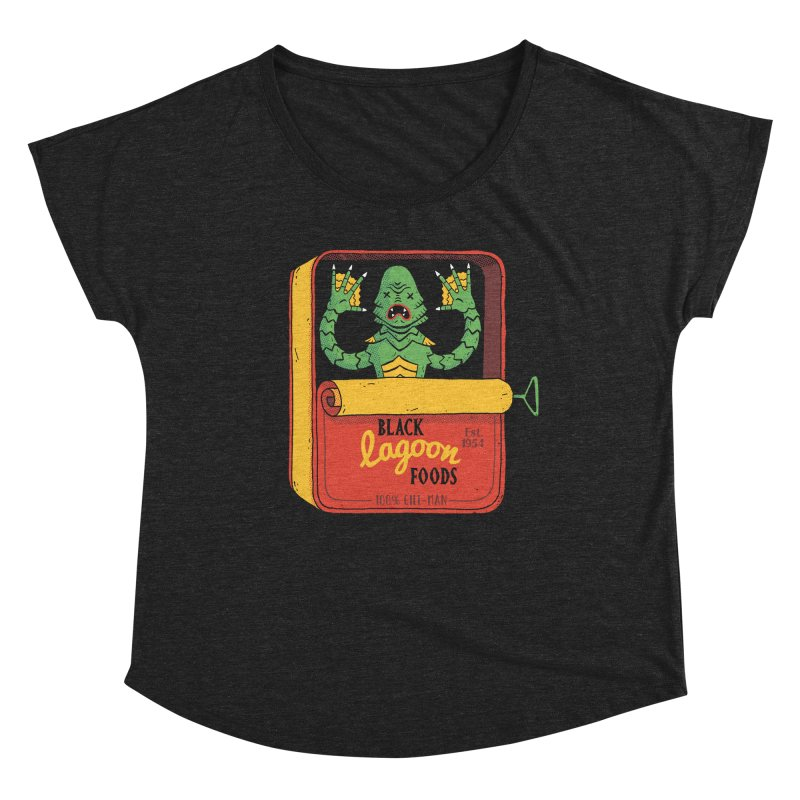 Tinned Creature Women's Scoop Neck by DinoMike's Artist Shop