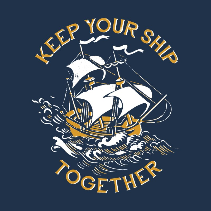 Keep Your Ship Together Home Blanket by DinoMike's Artist Shop