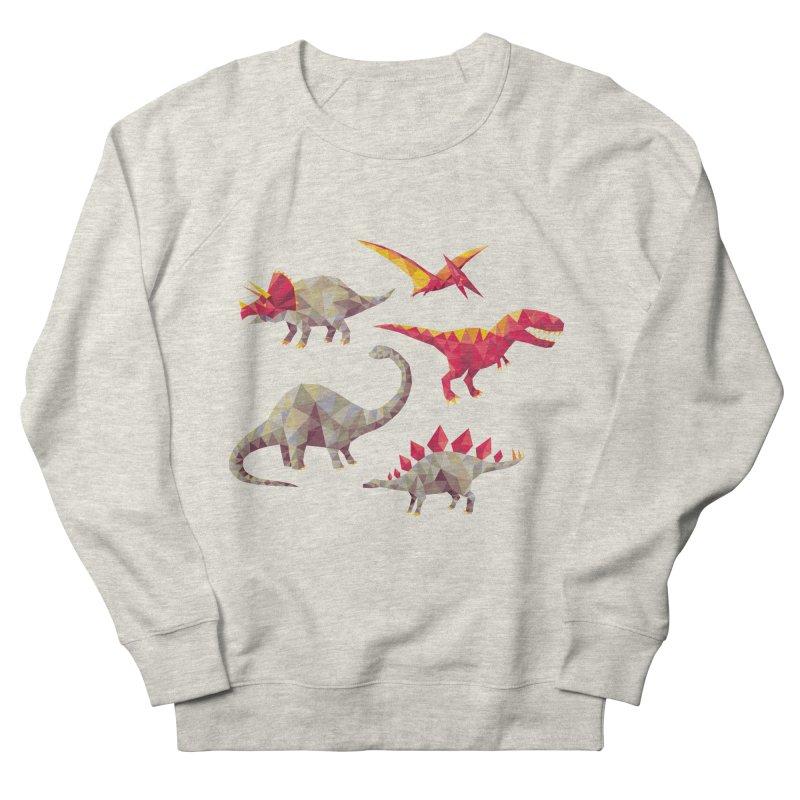 Geo Saurs Women's Sweatshirt by DinoMike's Artist Shop