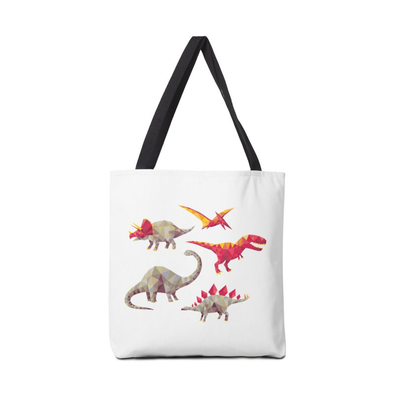 Geo Saurs Accessories Tote Bag Bag by DinoMike's Artist Shop