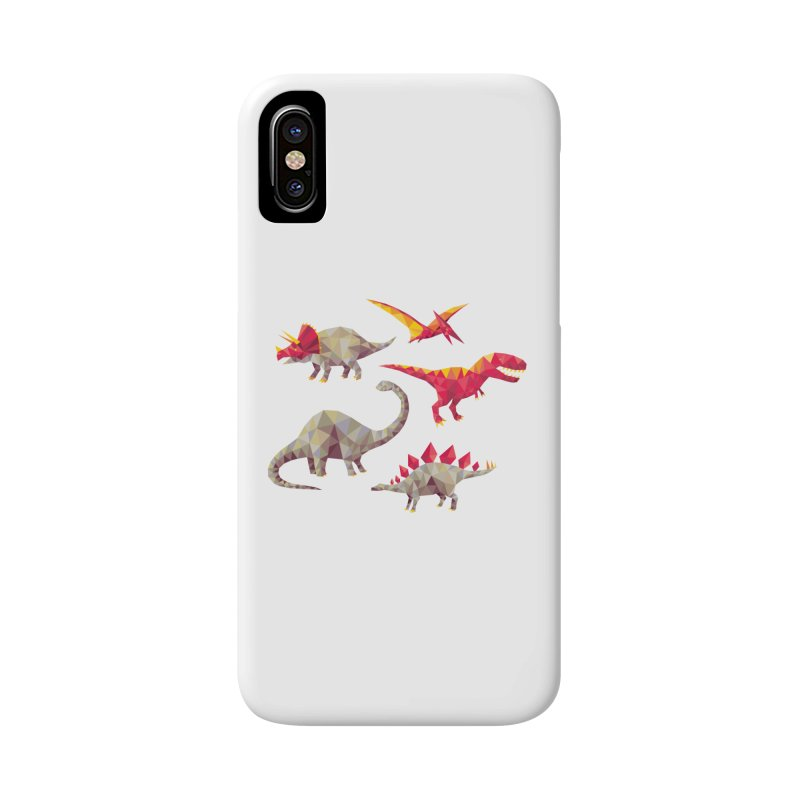 Geo Saurs Accessories Phone Case by DinoMike's Artist Shop