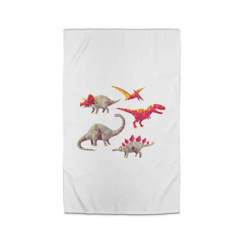Geo Saurs Home Rug by DinoMike's Artist Shop