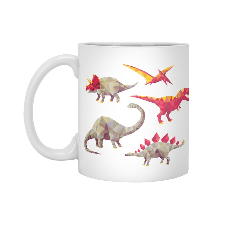 Geo Saurs Accessories Mug by DinoMike's Artist Shop