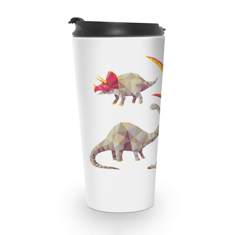 Geo Saurs Accessories Travel Mug by DinoMike's Artist Shop