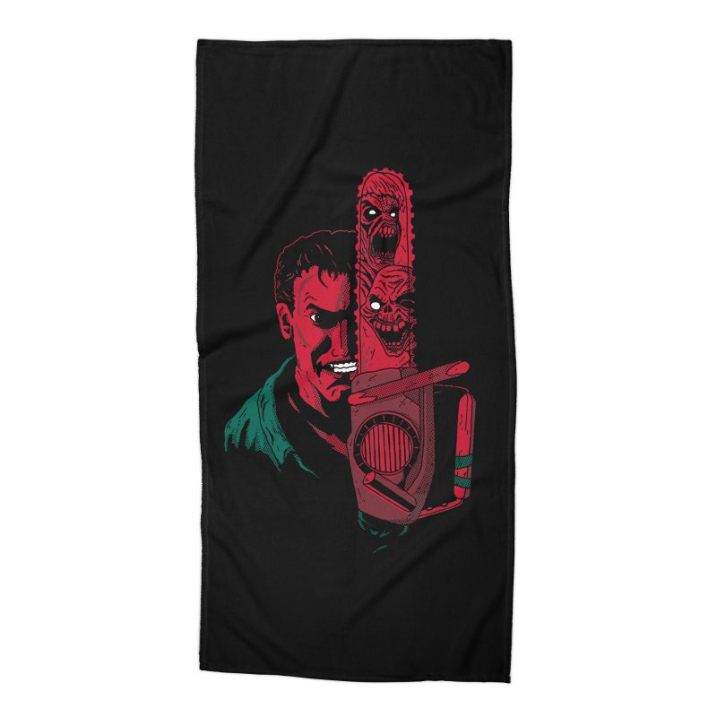 Ashley Accessories Beach Towel by DinoMike's Artist Shop