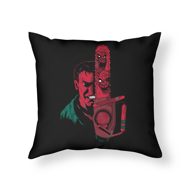 Ashley Home Throw Pillow by DinoMike's Artist Shop