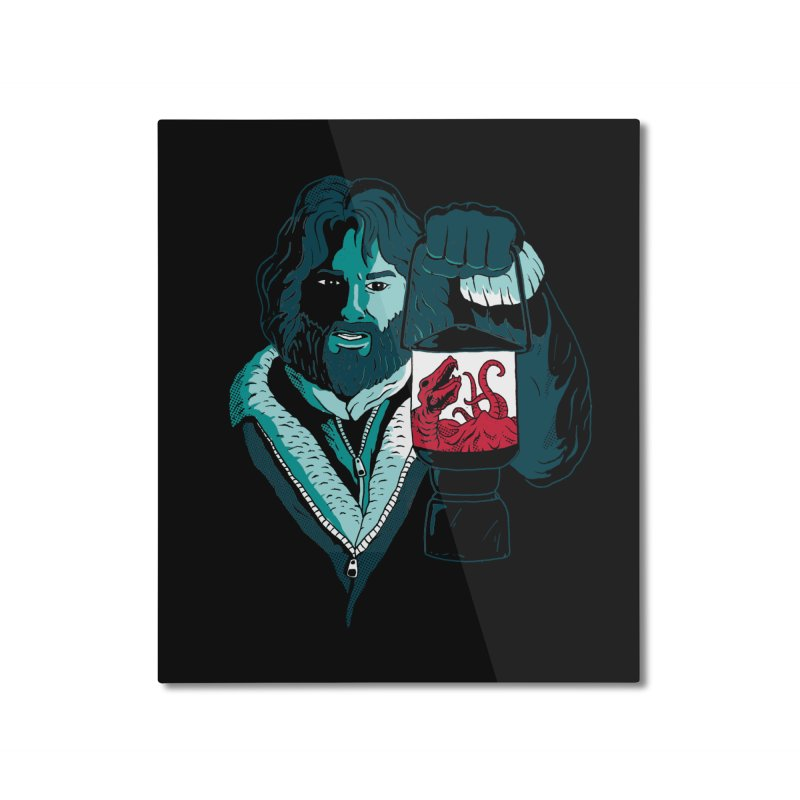 RJ Home Mounted Aluminum Print by DinoMike's Artist Shop