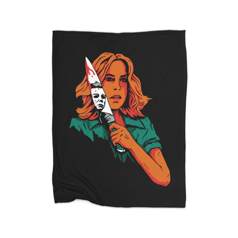 Laurie Home Blanket by DinoMike's Artist Shop