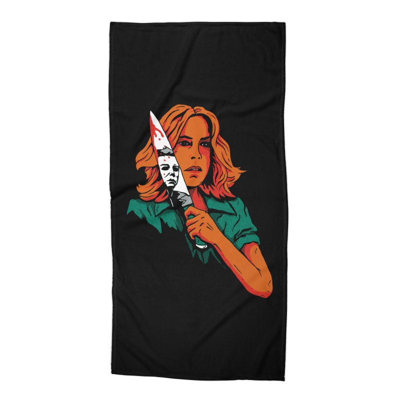 Laurie Accessories Beach Towel by DinoMike's Artist Shop