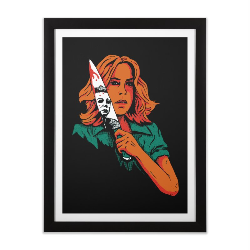 Laurie Home Framed Fine Art Print by DinoMike's Artist Shop