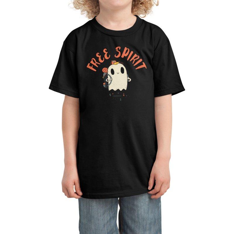 Free Spirit Kids T-Shirt by DinoMike's Artist Shop