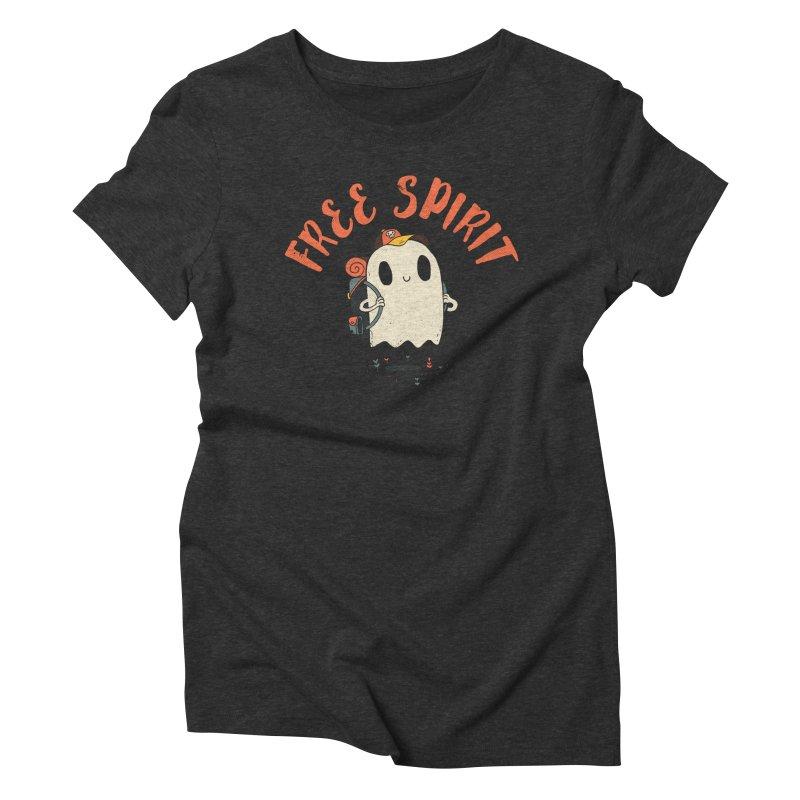 Free Spirit Women's T-Shirt by DinoMike's Artist Shop